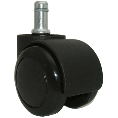 Nice Chair Caster Wheels With Soft Treads And Wide Upper Barrel