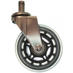 Rubber Roller Blade Style Chair Wheels